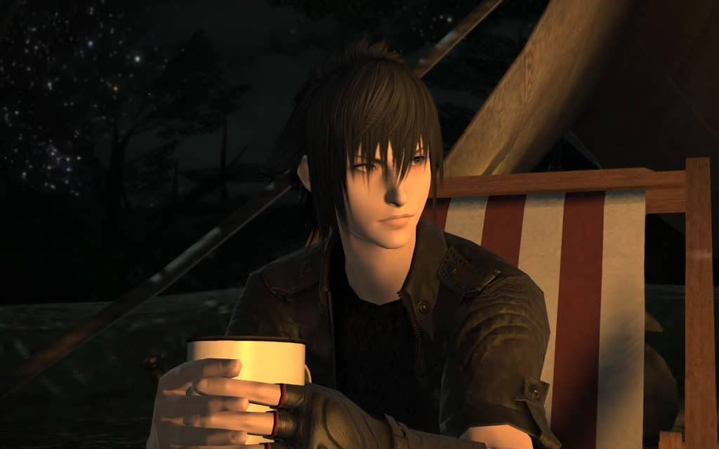 Noctis in Final Fantasy XIV