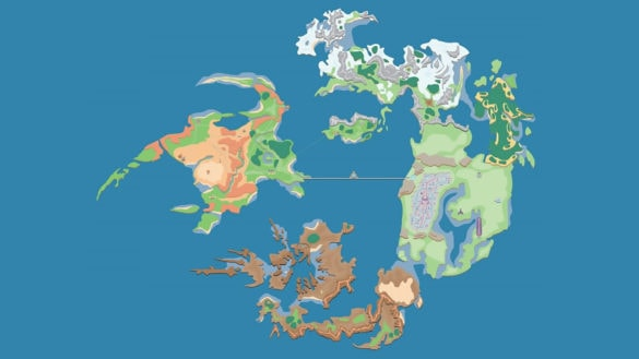 Final Fantasy VIII World Map