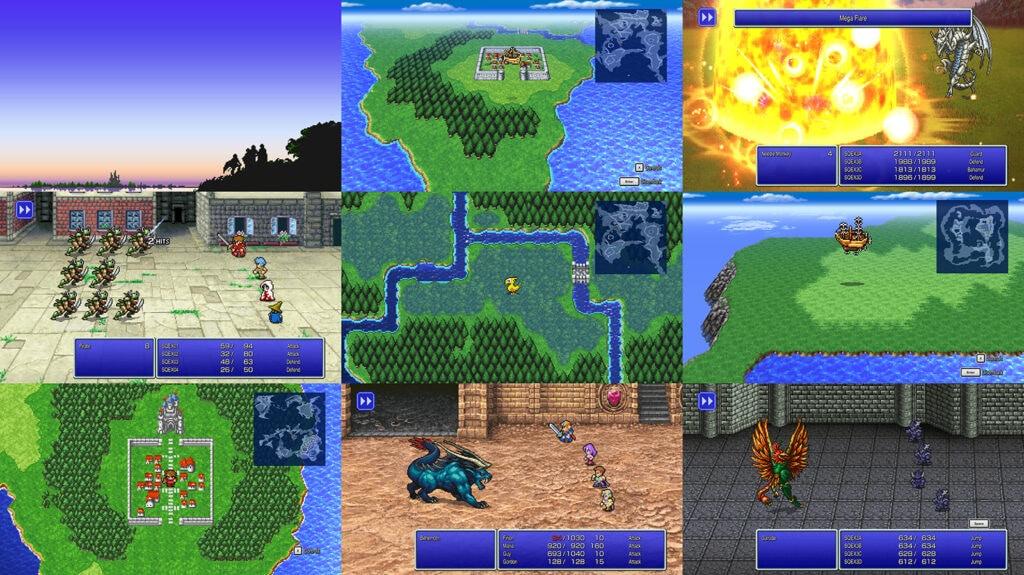 Pixel Remaster Final Fantasy